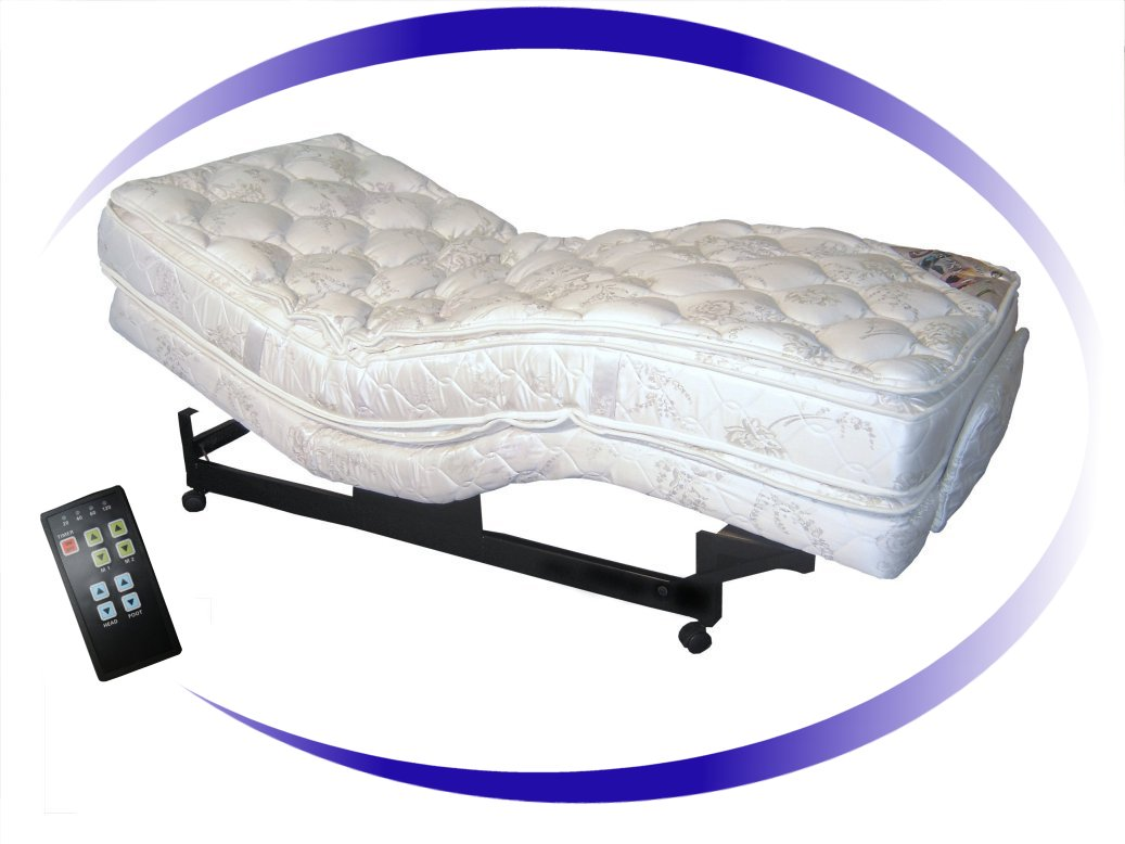 ARAPAL Vibration Therapy Adjustable Bed
